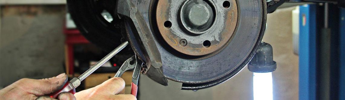 Reparatur eine KFZ-Bremse