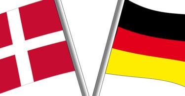 Deutsch-Dänische Flaggen