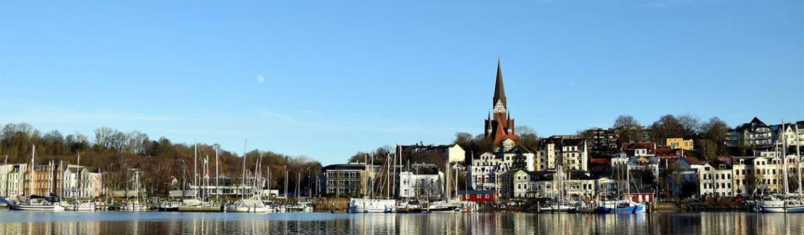 Flensburg, Ansicht Ostufer
