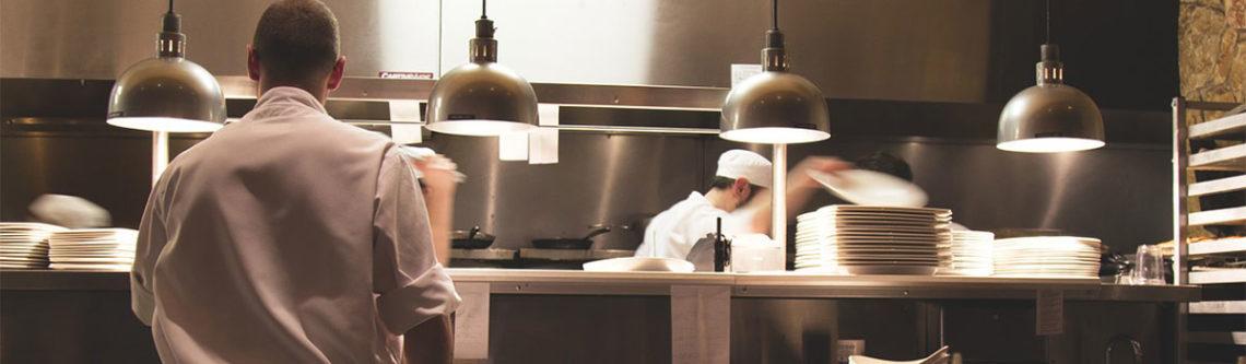 Arbeit in der Hotelküche